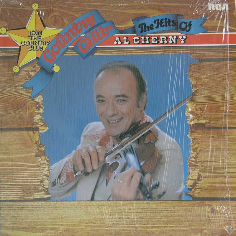 Al Cherny - The Hits Of Al Cherny (Country Music vinyl record for sale)
