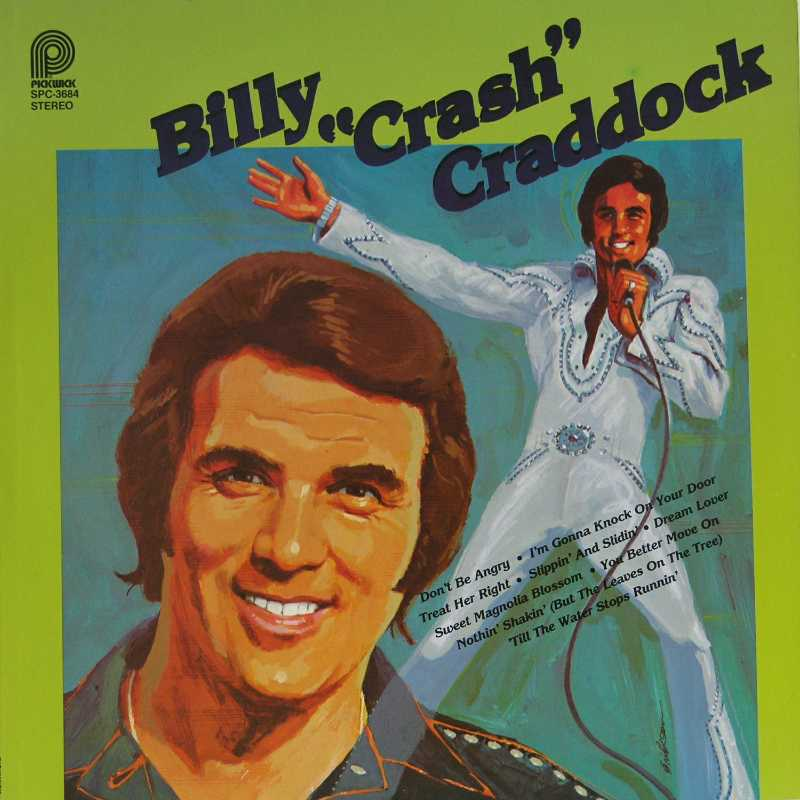 Billy 'Crash' Craddock Country Music vinyl record for sale)