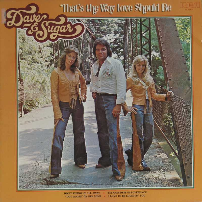 Dave & Sugar - That's The Way Love Should Be (Country Music vinyl record for sale)