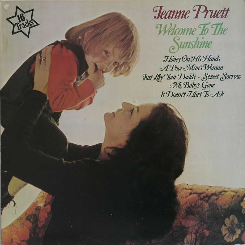 Jeanne Pruett - Welcome To The Sunshine (Country Music vinyl record for sale)