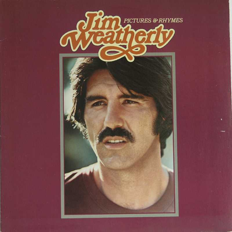 Jim Weatherly - Pictures And Rhymes (Country Music vinyl record for sale)