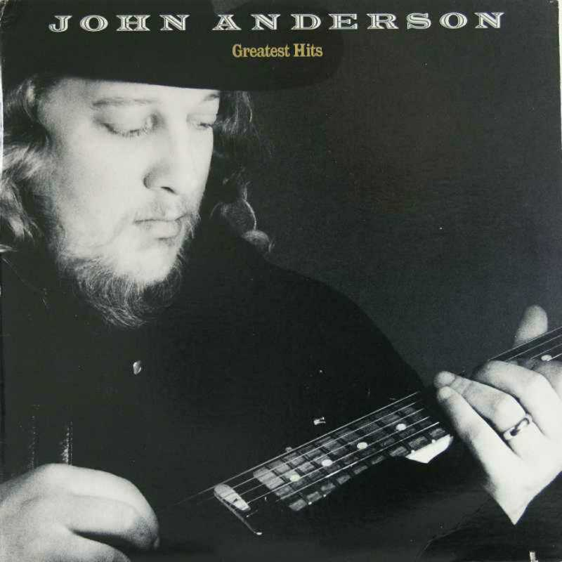 John Anderson - Greatest Hits (Country Music vinyl record for sale)