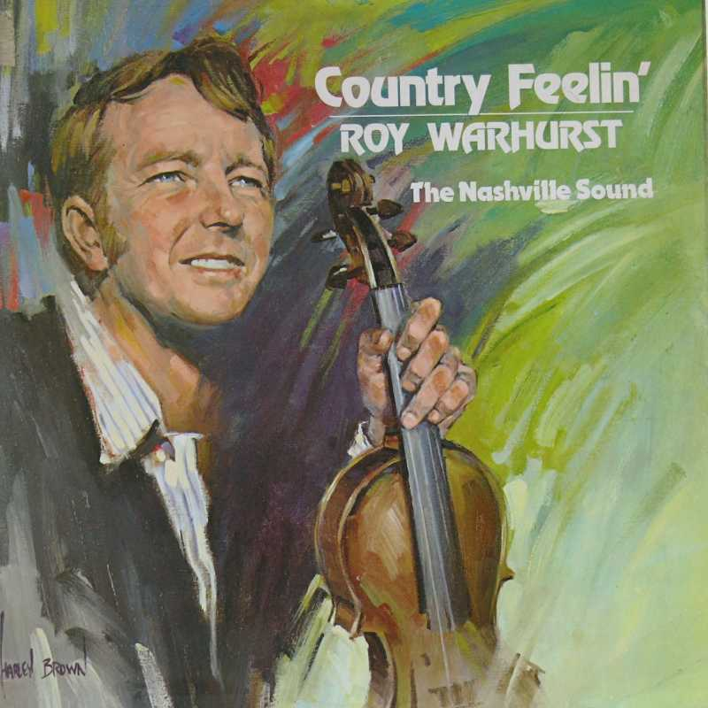 Roy Warhurst - Country Fiddling (Country Music vinyl record for sale)