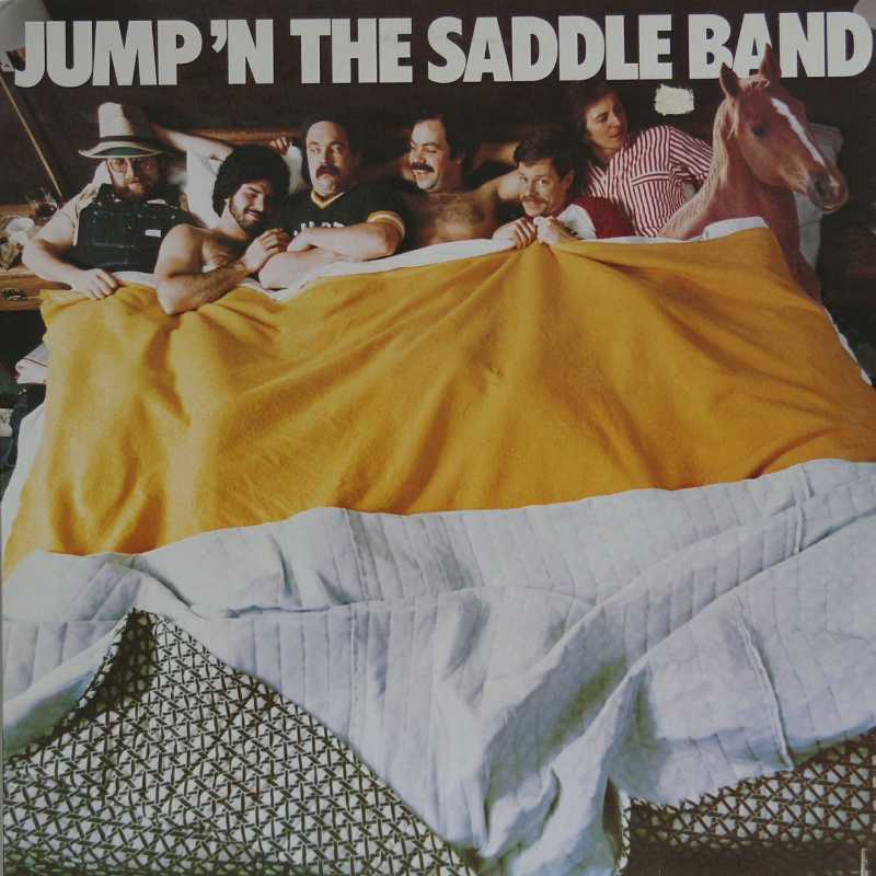 The Jump In The Saddle Band (Country Music vinyl record for sale)