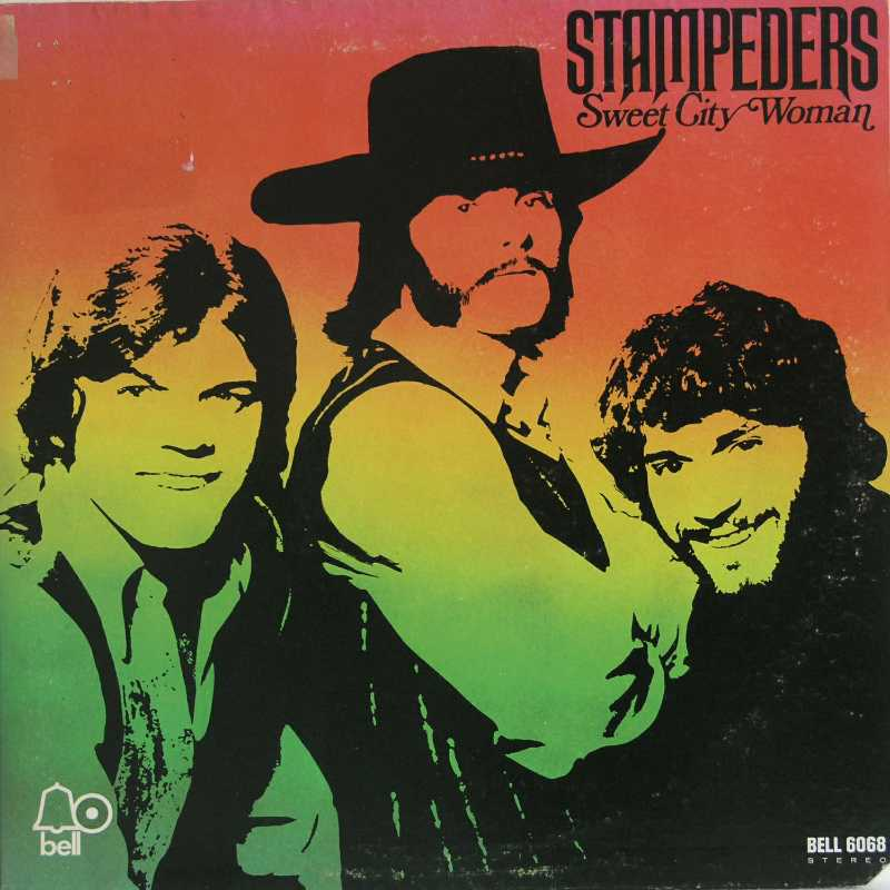 The Stampeders - Sweet City Woman (Country Music vinyl record for sale)