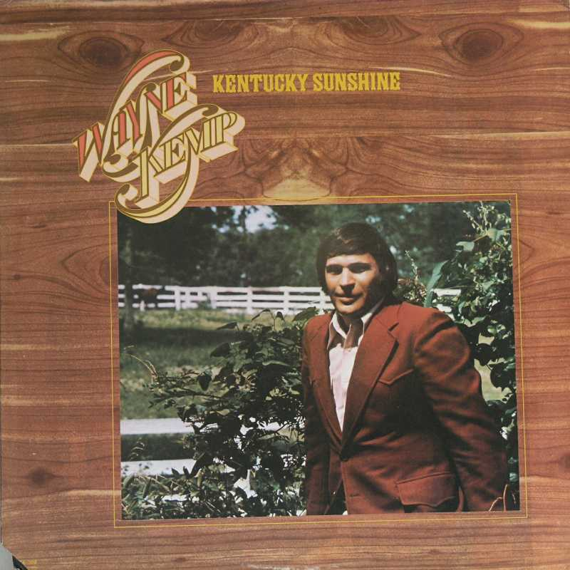 Wayne Kemp - Kentucky Sunshine (Country Music vinyl record for sale)